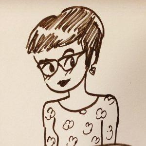 Drawing of Sujei Lugo